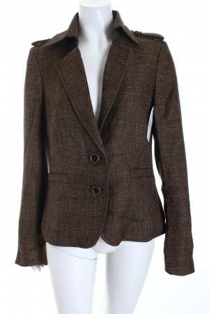 Rich & Royal Blazer braun-goldfarben Business-Look