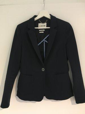 Rich & Royal Jersey Blazer dark blue