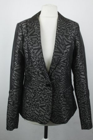 Rich & Royal Blazer Gr. 34 schwarz silber