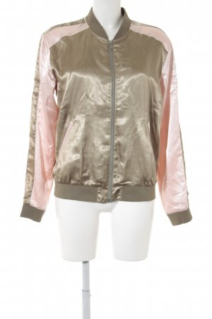 Rich & Royal Blouson gold-colored-pink college style