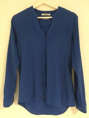 Rich & Royal Long Sleeve Blouse blue viscose