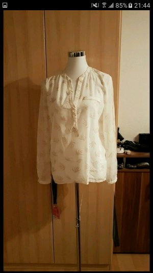 rich & royal bluse in weiss