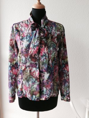 Rich & Royal Bluse Spring Hippie Bohemian Seide Schleife edel Luxus feminin