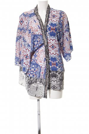 Rich & Royal Blusenjacke abstraktes Muster Business-Look