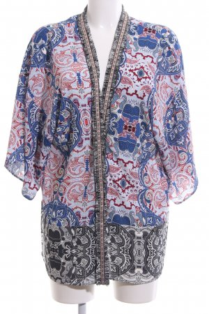 Rich & Royal Chaqueta tipo blusa estampado con diseño abstracto look casual