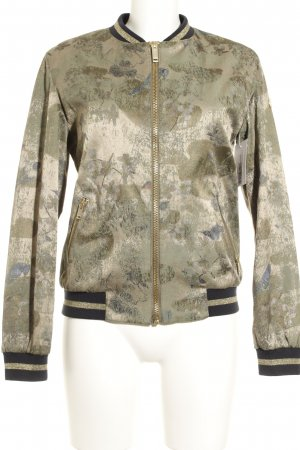 Rich & Royal Bomberjacke Camouflagemuster Casual-Look