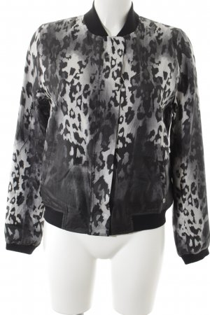 Rich & Royal Chaqueta bomber estampado de leopardo estampado animal