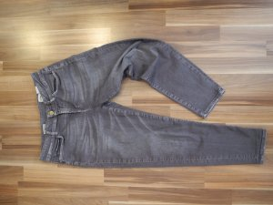 Rich & Royal Boyfriend grau washed out bequem cool lässig Luxus Designer 27 Elasthan Stretch Jeans Denim Hose