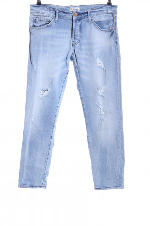 Rich & Royal Boyfriendjeans blau Casual-Look