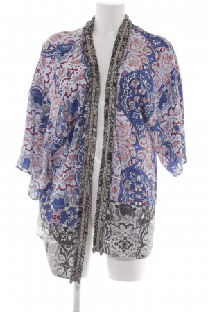 Rich & Royal Cardigan abstraktes Muster extravaganter Stil