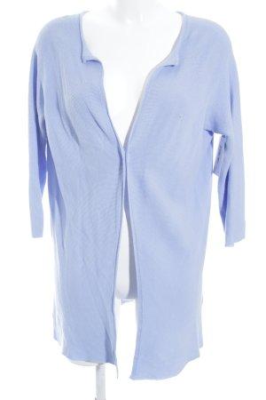 Rich & Royal Cardigan kornblumenblau schlichter Stil