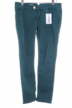 Rich & Royal Chinohose petrol Casual-Look