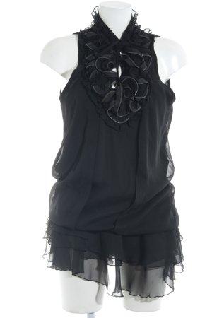Rich & Royal Cocktailkleid schwarz Elegant