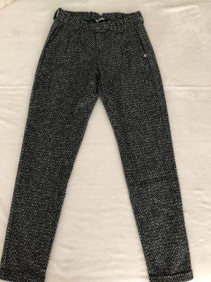 Rich & Royal Pantalon à pinces gris foncé