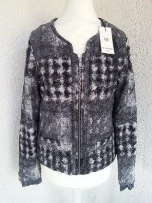 Rich&Royal Jacke schwarz/grau Gr. S/36 neu