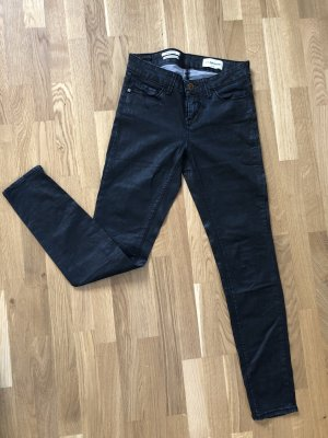 Rich & Royal Jeans 26/32 schwarz mit Glanz