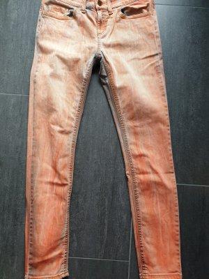 Rich & Royal Tube Jeans multicolored cotton