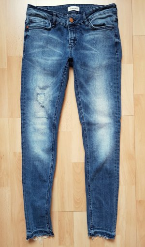 Rich & Royal Jeans Super Skinny W28 L32 Distressed