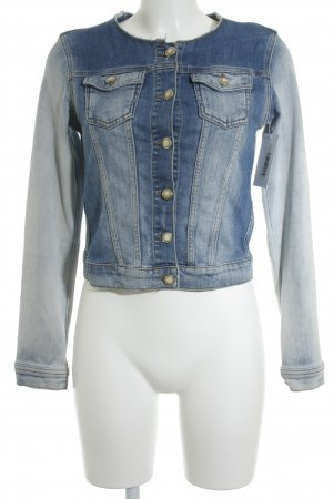 Rich & Royal Jeansjacke himmelblau Casual-Look