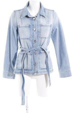 Rich & Royal Jeansjacke himmelblau-kornblumenblau Jeans-Optik