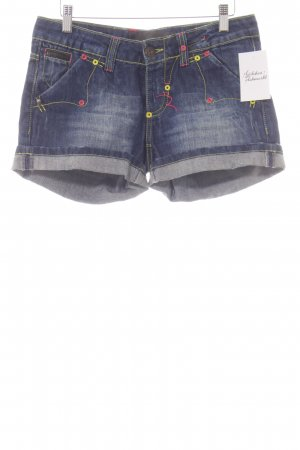 Rich & Royal Jeansshorts blau Casual-Look