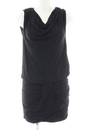 Rich & Royal Jerseykleid schwarz Casual-Look