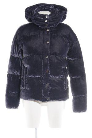 Rich & Royal Chaqueta con capucha negro estampado acolchado look casual