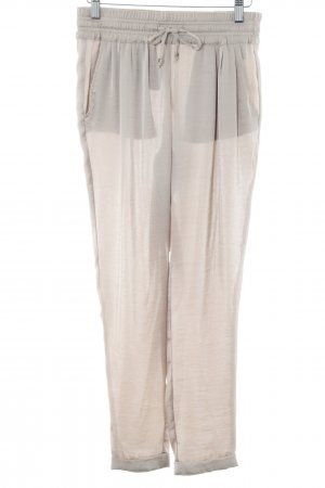 Rich & Royal Pantalone peg-top beige elegante