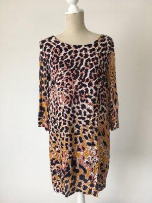 * Rich & Royal * Kleid 40 leo currygelb schwarz animalprint