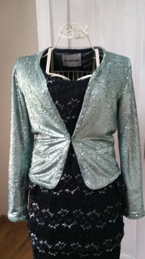 Rich & Royal Kurz-Blazer mint Party-Look