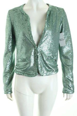 Rich & Royal Kurz-Blazer mint Party-Look