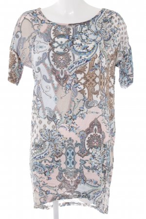 Rich & Royal Kurzarmkleid florales Muster Casual-Look
