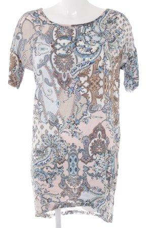 Rich & Royal Kurzarmkleid florales Muster Casual-Look