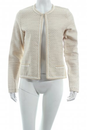 Rich & Royal Kurzjacke creme-beige Business-Look