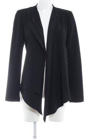 Rich & Royal Kurzjacke schwarz schlichter Stil