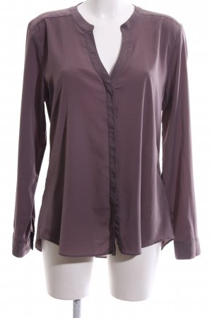 Rich & Royal Langarm-Bluse lila Casual-Look