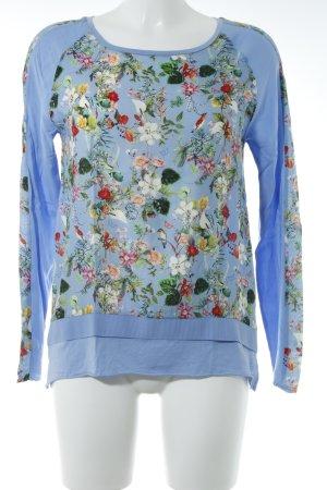 Rich & Royal Langarm-Bluse florales Muster Romantik-Look