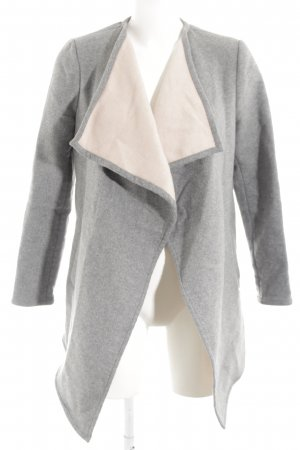 Rich & Royal Lange Jacke grau Casual-Look
