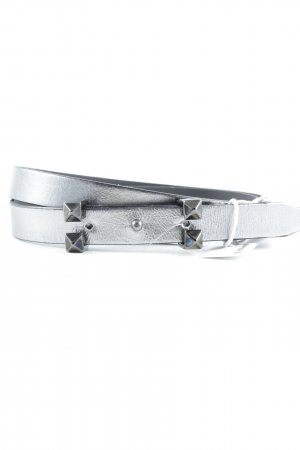 Rich & Royal Leather Belt silver-colored casual look