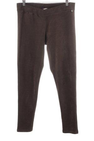 Rich & Royal Leggings graubraun schlichter Stil