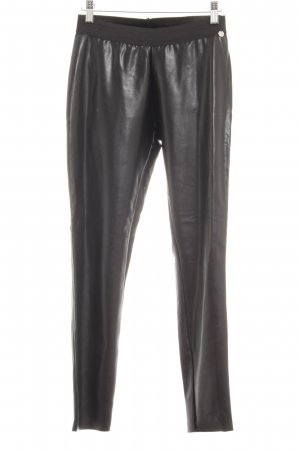 Rich & Royal Leggings schwarz Glanz-Optik