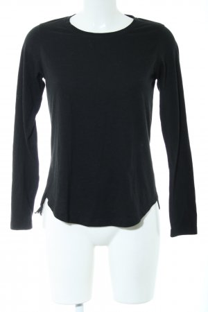 Rich & Royal Longsleeve schwarz Casual-Look