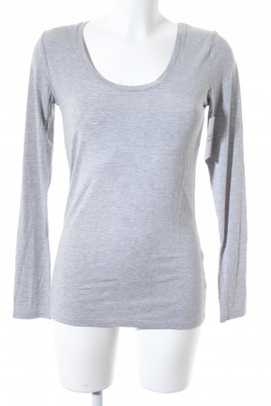 Rich & Royal Longsleeve grau Casual-Look