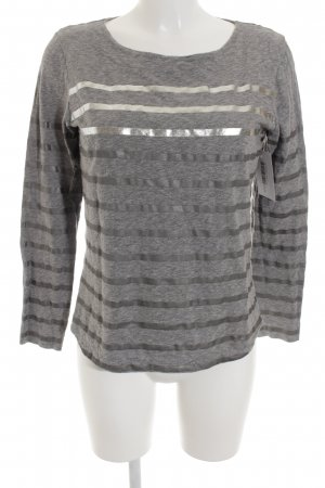 Rich & Royal Longsleeve grau-silberfarben Casual-Look