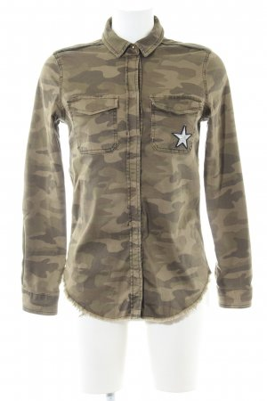 Rich & Royal Militaryjacke Camouflagemuster Casual-Look