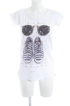 Rich & Royal Print-Shirt Motivdruck Street-Fashion-Look