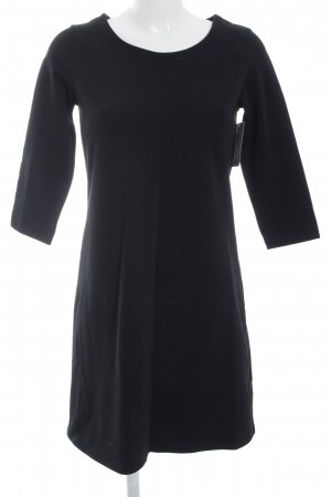Rich & Royal Sweater Dress black simple style