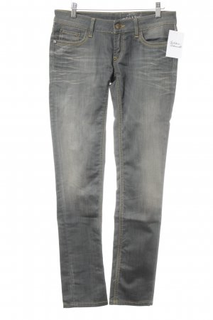 Rich & Royal Röhrenjeans grau Casual-Look