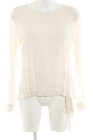 Rich & Royal Schlupf-Bluse creme schlichter Stil
