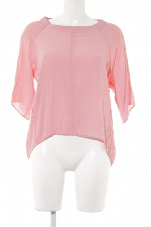 Rich & Royal Schlupf-Bluse rosa Casual-Look